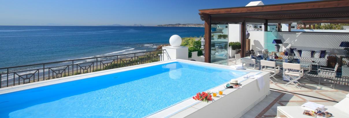 Vily na pobřeží Španělska