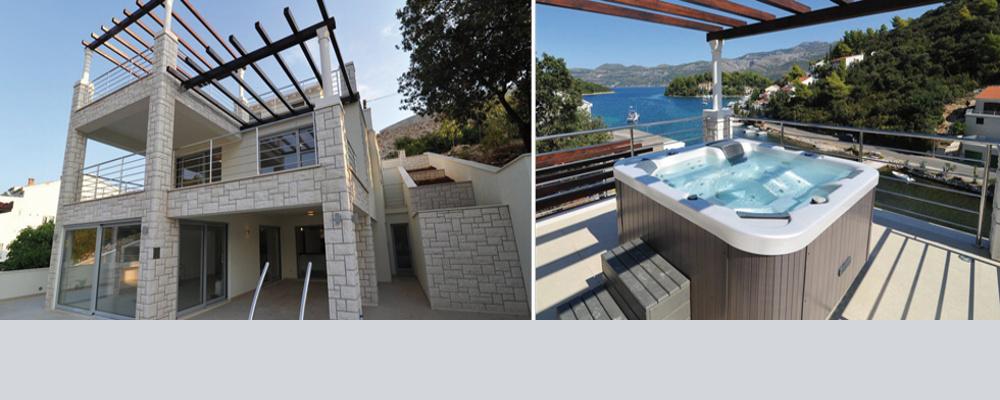 Luxusní vila na ostrově Korčula